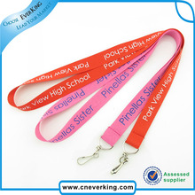 Free Shipping Custom Logo Silk Screen Printed Wholesales Promotional Lanyard(China)