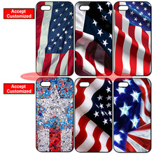 United States US Flag Cover Case for iPhone 4 4S 5 5S SE 5C 6 6S 7 8 Plus X iPod Touch 5 LG G2 G3 G4 G5 G6(China)