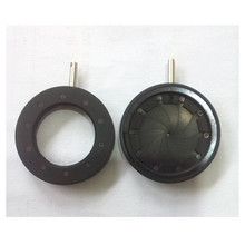 1-16mm Amplifying Diameter Zoom Optical Iris Diaphragm Aperture Condenser for Digital Camera Microscope Adapter with 10 Blades