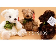 Free Shipping Sitting Height 20cm Cute Lovely RUSS Teddy Bear Toys Best Price Plush Toy For Bridthday Gift