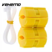 Vehemo Vehemo 2pcs New Universal Magnetic Gas Fuel Saver Reduce Car Motorcycles Truck Emission High Quality Car Accessories(China)