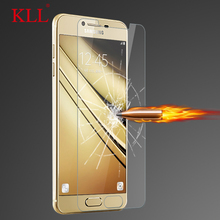 Buy KLL 9H 2.5D Tempered glass samsung galaxy A5 A7 A8 A3 2016 2017 screen protector galaxy A310 A510 A710 A320 A520 A720 for $1.38 in AliExpress store