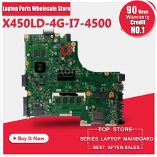 Buy ASUS X450LD 4G I7 4500 Laptop Motherboard System Board Main Board Card Logic Board Tested Well Free for $198.00 in AliExpress store