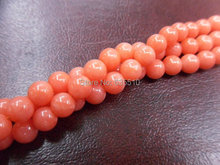 1 strand 10mm Orange color Sea Bamboo Coral Round Beads Semi precious stone loose beads fit Fashion Jewelry making free shipping(China)