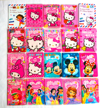girls like Fashion PVC Leather Passport Holder,Mickey and Minnie cartoon hello kitty Travel Passport Cover Case(China)