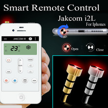 JAKCOM Universal Smart Remote Control Cell Phone Anti-Dust Gadgets Pluggy Dust Plug For IOS and Android Mobile phones(China)