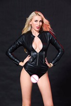 Buy Sex Clothes Latex Bodysuit Catsuit Women Plus Size Sexy Costumes Langerie Lenceria Porno Pole Dance Night Party Clubwear Hot