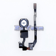 High Quality Home Button key Flex Cable For Apple Iphone 5S Mobile Phone Flex Cables Repair Part Replacement(China)