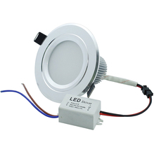 1PC Recessed Led Downlight 3W 5W 7W 9W 12W 15W Ceiling Spot light Home Lighting Decoration White/Warm White AC110V220V