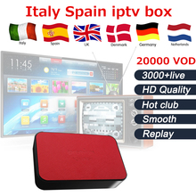 Ipremium TVonline IPTV Box with One year Italy iptv France Arabic UK Germany Sweden Israel yes USA Canada iptv free shipping(China)