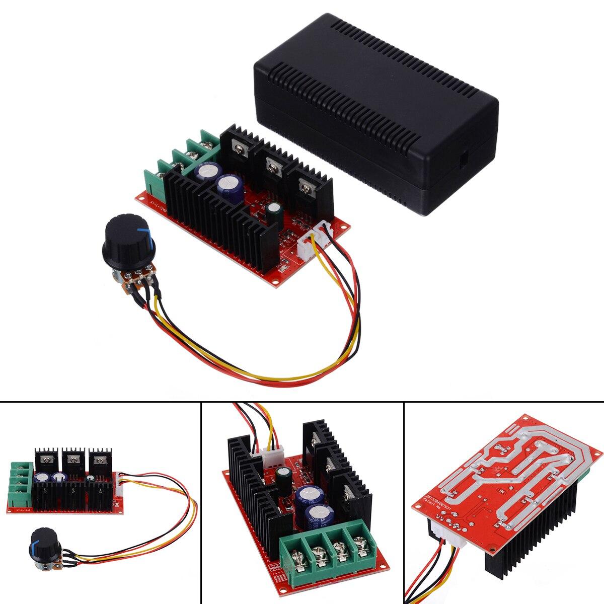 New 9-50V 2000W 40A Motor Speed Control Module PWM HHO RC Controller DC 12V 24V 48V  Motor Speed Control