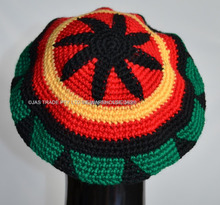 Fashion Punk Jamaica Reggae Knitted Hat Hip Hop Rasta Friendship Bob Marley Style Beanies Skullies Cap Black Yellow Red Green(China)