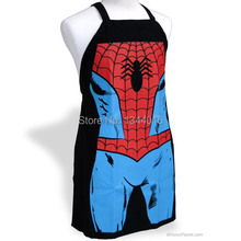 Spider-Man Apron Creative Personality Apron Home Gift Funny birthday Gift for Boys and Girls