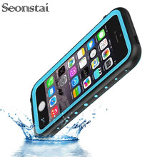 For i5 Fingerprint Waterproof IP68 Underwater Life Water Proof Shockproof Hard Case for iPhone 5s SE Phone Cover Coque Capinha(China)