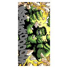 Bamboo Microfiber The Incredible Hulk Bath Towels Swim Spa Face Hand Towel Kids Adults Baby Bathroom Textile Wash Cloth 35*70CM