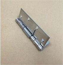 4 inch spring stainless steel hinge / wooden / aluminum alloy / iron automatic door close hinge x10