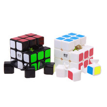 3x3x3 QiYi Sail Magic Cube Professional Speed Cube Ultra-smooth Square Cube Puzzle With Sticker Kids Learning Toys Birthday Gift