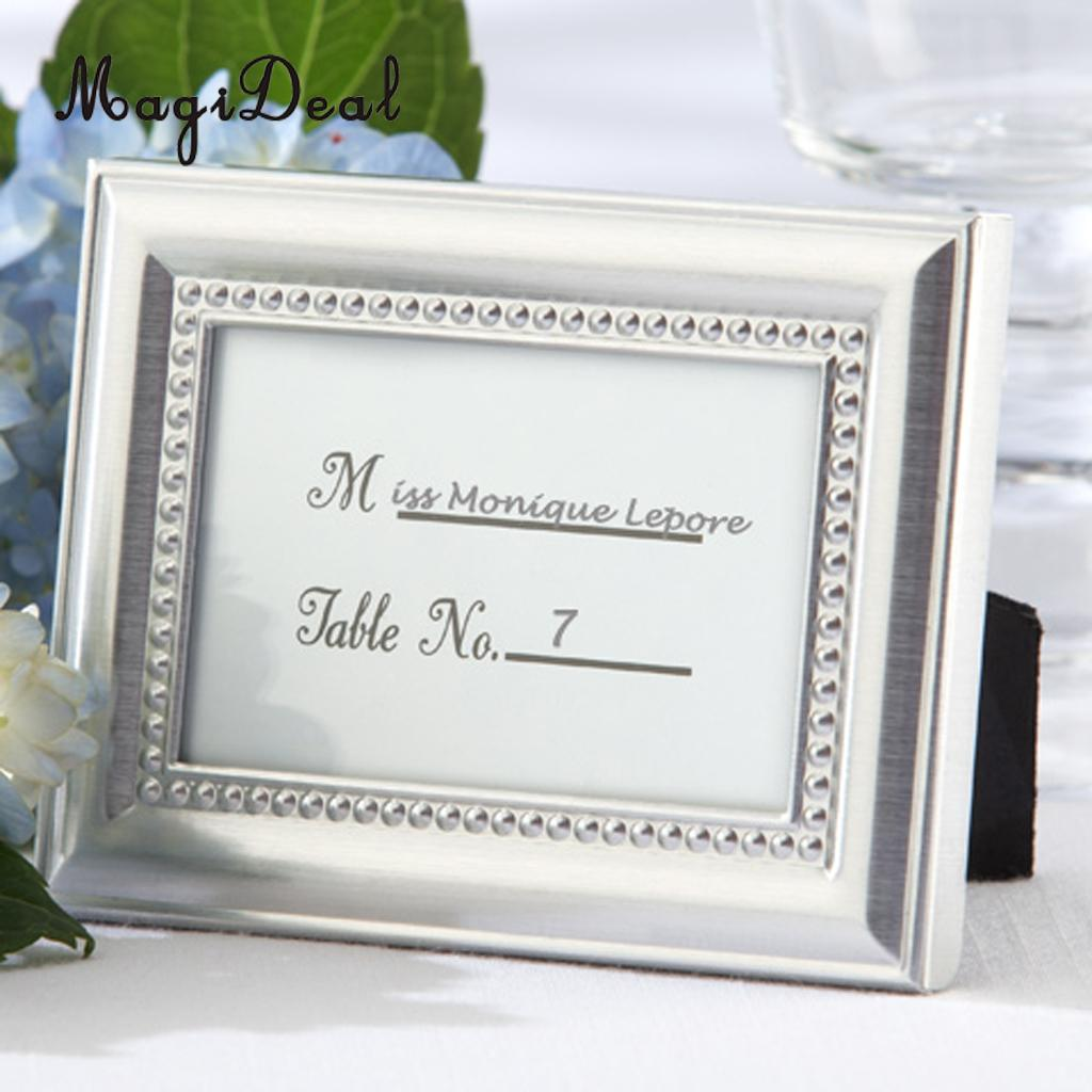 online get cheap wedding place card holder metal photo aliexpress magideal small vintage 2 8 1
