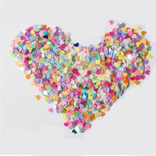 2Pack Wedding Confetti Nail Stickers Love Heart Star Shape Table Scatters For Wedding Valentine Birthday Party Decoration