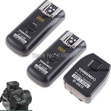 Free Ship RF-602 RF602 Wireless Studio Flash Trigger 2.4GHz Remote Shutter Release N2 for Nikon D80 D70S Camera +2 x Receiver