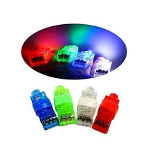 LED laser finger light Colorful Finger ring toy flash luminous ring toy party props light up toy kids birthday gift