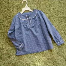 Spring Autumn Blouse for girls School blouses Childrens clothes for school girls Shirts for girls baby shirts tops clothing