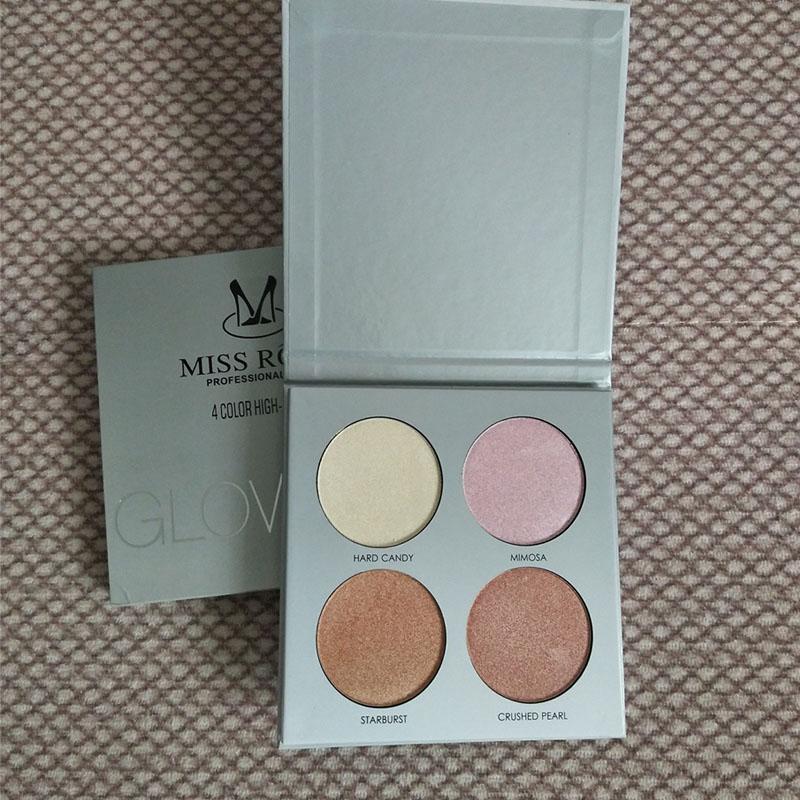 MISS ROSE Brand Light Medium Contour Kit Bronze Glow kit Powder Palette shimmer Highlighter Bronzer Contouring 3D Concealer N4
