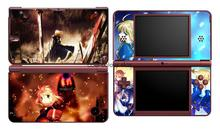 Fate Zero 227 Vinyl Skin Sticker Protector for Nintendo DSI XL LL for NDSI XL LL skins Stickers