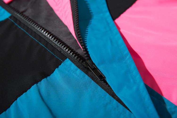 Vintage Color Block Zip Up Track Jacket 7
