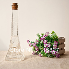 Min order$20(mixed items) La Tour Eiffel Eiffel Tower MIDDLE SIZE flowe vase perfume bottle house decoration photo accessory(China)