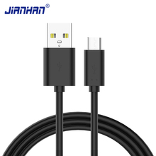 JianHan Micro USB Cable Fast Charging Phone Charger Adapter Data Cabel Samsung Xiaomi Huawei SONY Android Charge Micro USB