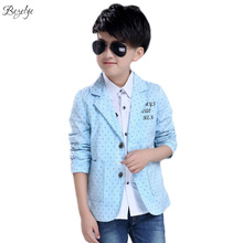 2017 Boys Blazer Jacket Boy Blazer Coat Long Sleeve Formal Jacket Children Jacket Blazer Gentleman Boys Coats for Weddings