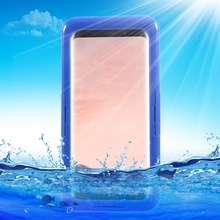Dulcii For Galaxy S8 S8 Plus Waterproof cover Neoprene+Plastic Waterproof Mobile Casing (IP68) for Samsung Galaxy S8 Plus G955