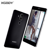 XGODY Y22 3G Smartphone 6.0 Inch MTK6580 Quad Core 1GB RAM 16GB ROM Celular Android 5.1 8MP GPS WiFi Dual SIM Mobile Cell Phone(China)