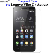 "Buy Lenovo A2020 Tempered Glass 9H 2.5D Premium Screen Protector Film Lenovo Vibe C A2020 2020 5.0"" for $1.49 in AliExpress store"
