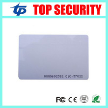 TK4100 EM card EM4100 RFID card 125KHZ proximity card for time attendance and access control RFID card