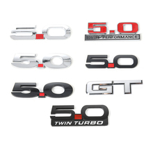 Auto Styling Accessories GT/5.0 Emblem Sticker For Ford Mustang