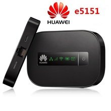 Unlock HUAWEI E5151 Router two-thread lan cat 3g router 3g wireless router wifi free shipping(China)