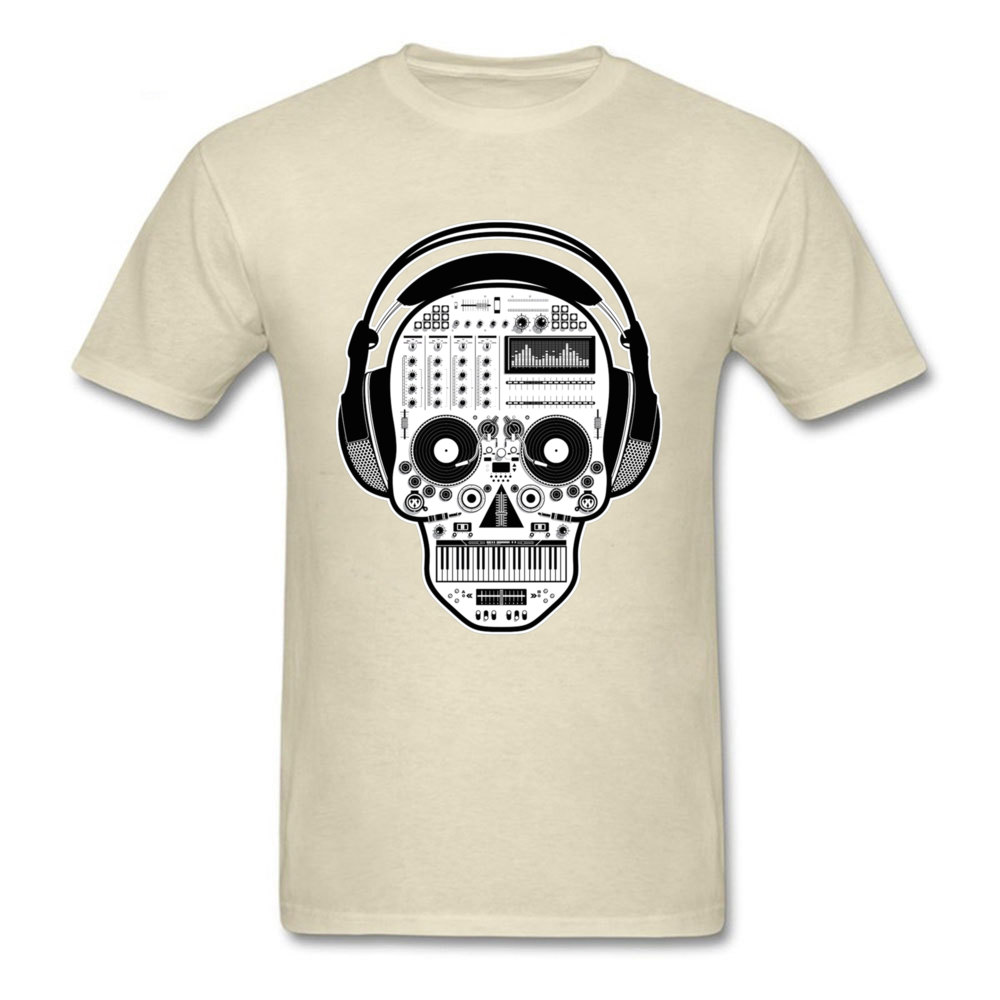 DJ Sugarskull 21397 Leisure Mother Day Pure Cotton Crewneck Men Tops Tees Summer Tshirts New Coming Short Sleeve Tshirts DJ Sugarskull 21397 beige