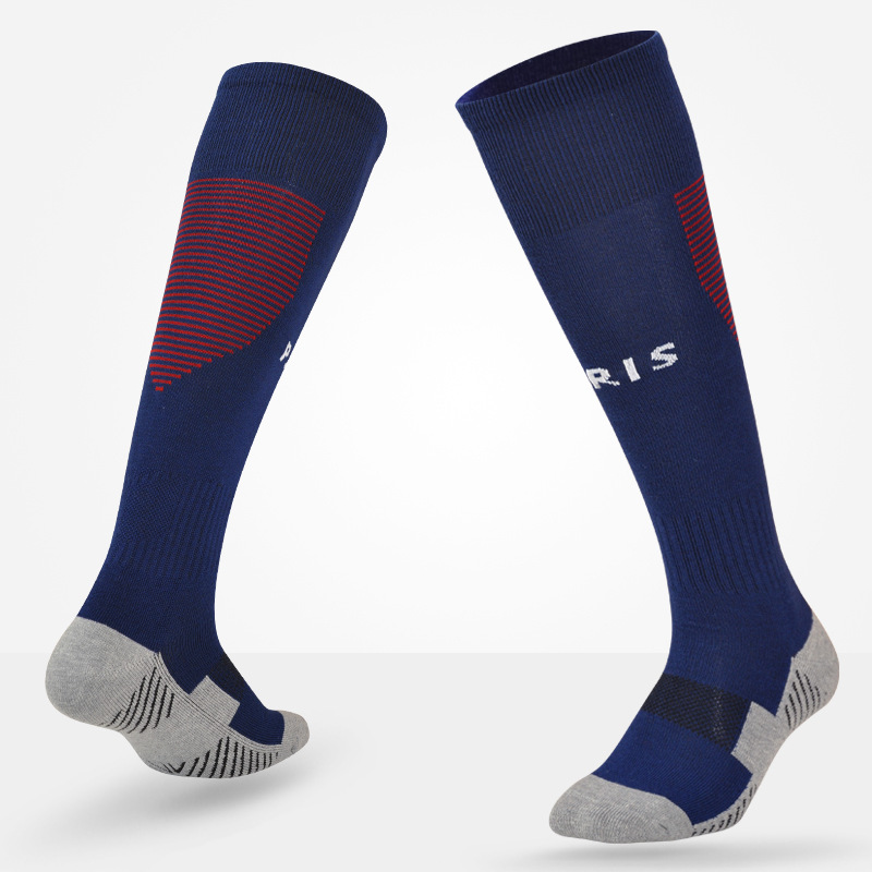 Image Adult and Kids Soccer Socks Professional Clubs Football Antiskid Thick Warm Socks Knee High Training Long Stocking Skiing Socks