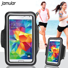 JAMULAR Waterproof Sport Arm band Case for Samsung Galaxy S8 Plus S7 S6 Edge S5 Note 5 A3 A5 A7 J5 J7 Running Phone Pouch Cover
