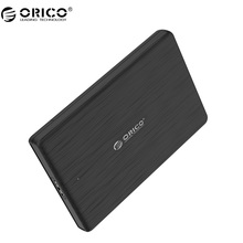 ORICO 2.5 Inch HDD Enclosure USB3.0 Micro B External Hard Drive Disk Case High-Speed Case for SSD Support UASP SATA III(2189U3)