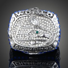 Wholesale! 2013 Seattle Seahawks Replica Super Bowl Rings Championship Ring For Men Fashion Sport Jewelry J01954(China)