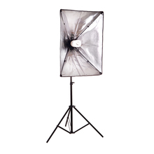 Photography Lighting Kit 2m light stand +50*70CM Photography Studio Wired Softbox Photo Studio Accessories(China)