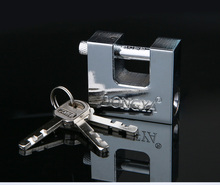 Top Security Shipping Container Garage Trailer Padlock Heavy Duty with 3 Keys(China)