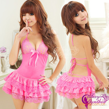 Erotic Lingerie Babydoll Princess Series Sling Lingerie Sexy Backless Bra Underwear Manufacturers Supply Fei Mu D406(China)