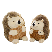 1pcs 16cm new super cute hedgehog plush toy high quality doll home decoration gift for children dolls toys(China)