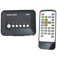 HDD 720P HD Media Center RM/RMVB/AVI/MPEG TV Player With USB And SD/MMC Port