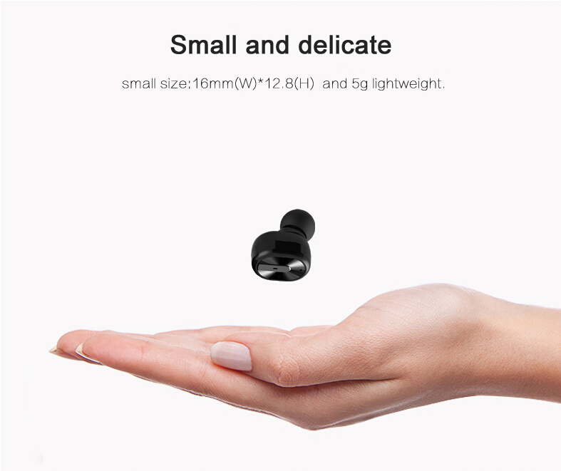 EHEAR S3 Bluetooth Headset Car Charger Noise Cancelling with suports music headphone for Mobile Smart Phone for samsung xiaomi