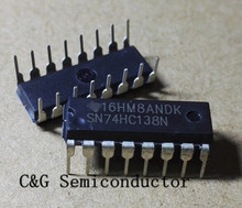10PCS 74HC138N SN74HC138N 74HC138 IC 3-to-8 Line Inverting Decoder/Demultiplexer DIP-16